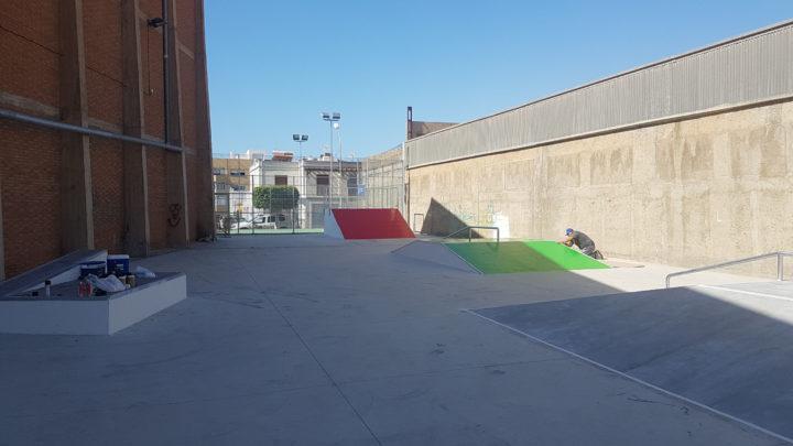 Ejecución de Skatepark en Benahadux, Almería