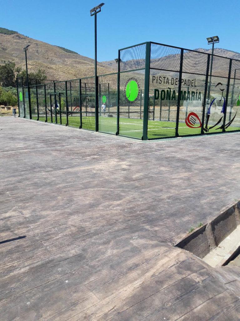 Pista Deportiva en Doña María